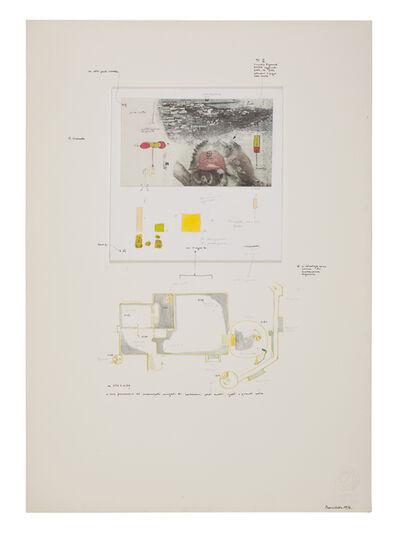 Gianfranco Baruchello, 'Sembra che lo zio Sigmund abbia aggiunto: ... ', 1972