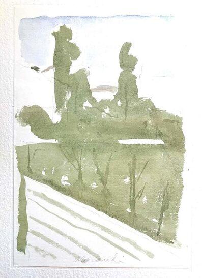 Giorgio Morandi, 'Diagonal Landscape ', 1973