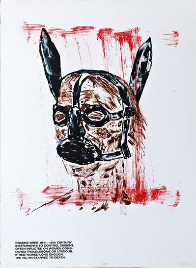 Leon Golub, 'The Brank', 1985