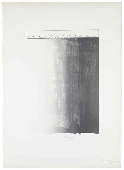 Jasper Johns, 'Ruler', 1966