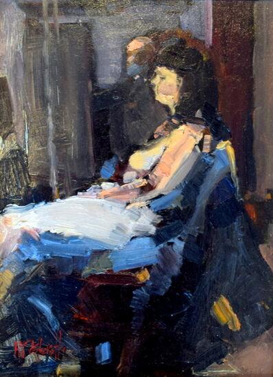 Michael John Ashcroft, 'Study of Angie', ca. 2015