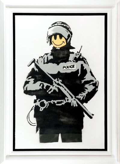 Banksy, 'Smiley Copper', 2003