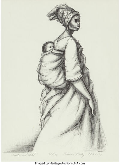 Herman Bailey, 'Mother and Child', 1973