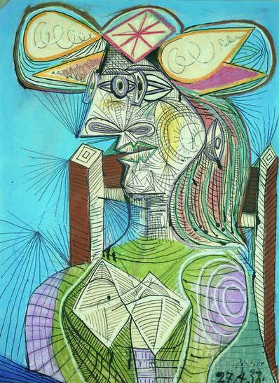 Pablo Picasso, 'Femme assise dans un fauteuil (Dora) (Woman Sitting in an Armchair, Dora)', 1938