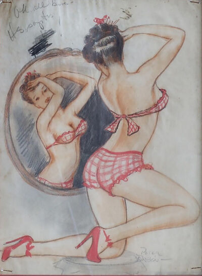 Peter Driben, 'Lady and The Mirror', 1940s