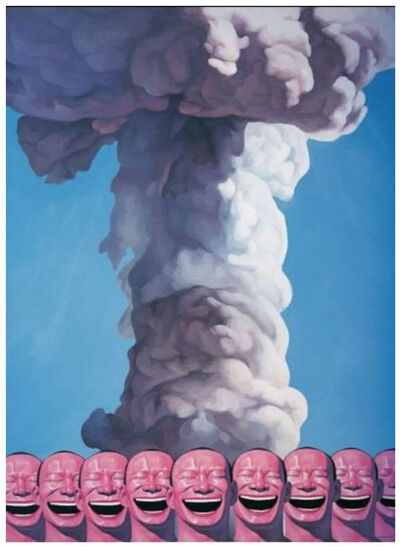 Yue Minjun, 'Mushroom Cloud (from Snatched Ecstasy)', 2009