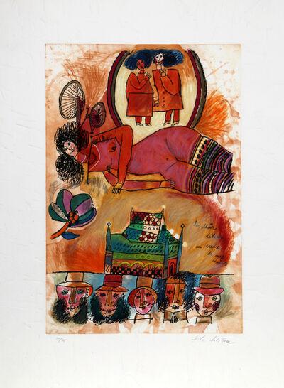 Theo Tobiasse, 'Le Desir', 1986
