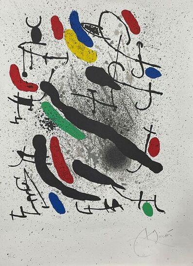 Joan Miró, 'Liberté des libertés 3', 1971
