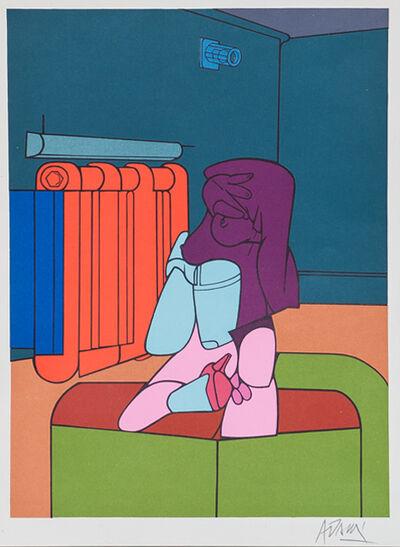 Valerio Adami, 'Radiator from Derrière le Miroir', 1970