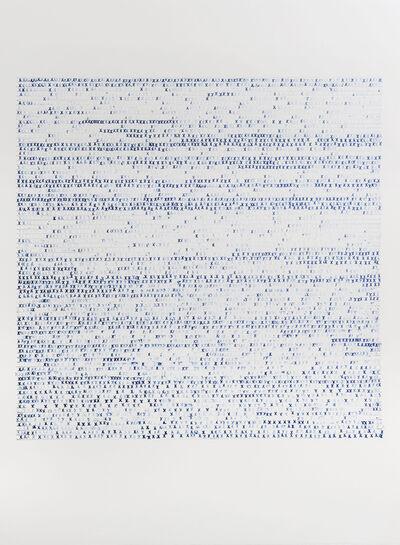 Sarah Irvin, 'X Stamp, No. 6', 2019