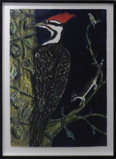 Frank X. Tolbert, 'Pileated Woodpecker', 2015