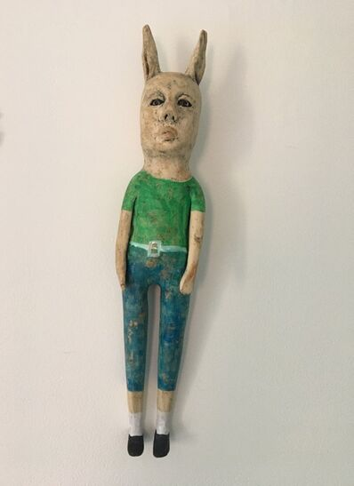 Ashley Benton, 'Ceramic wall hanging sculpture: 'Well, if Ned is going I'll go to'', 2021