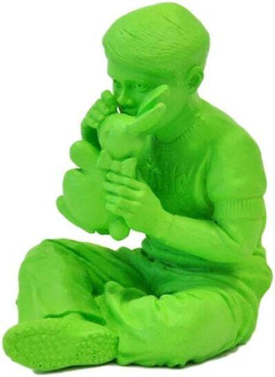 FAILE, 'Bunny Boy (green)', 2006