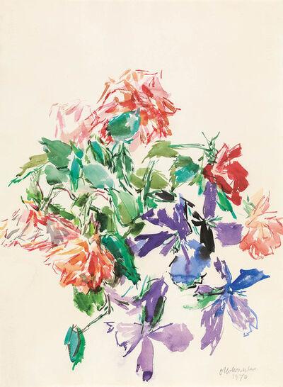 Oskar Kokoschka, 'Bouquet of Flowers', 1970
