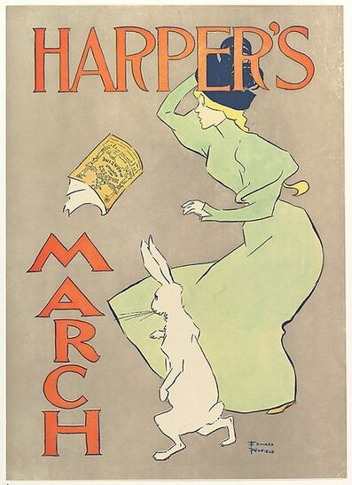 Edward Penfield, 'Harper's March', 1895