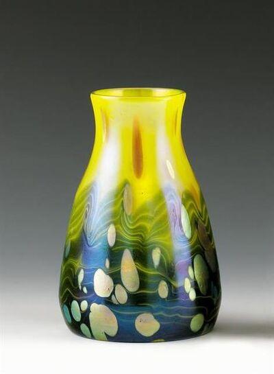 Johann Lötz Witwe, Klostermühle, 'Vase, Decor: Cytisus', 1904