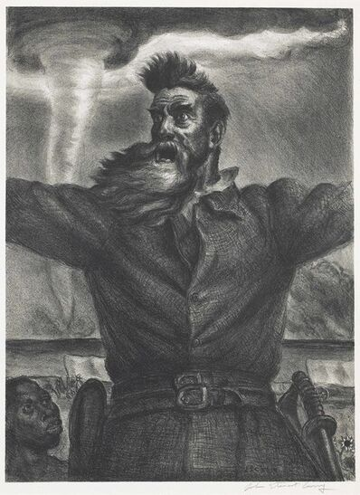 John Steuart Curry, 'John Brown', 1939