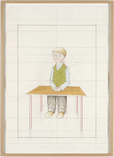 Peter Land, 'An Attempt at Reconstructing my Elementary School Class, Based on my Memory (33)', 2012