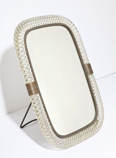 Venini, 'Rare Table-Top Mirror', ca. 1936
