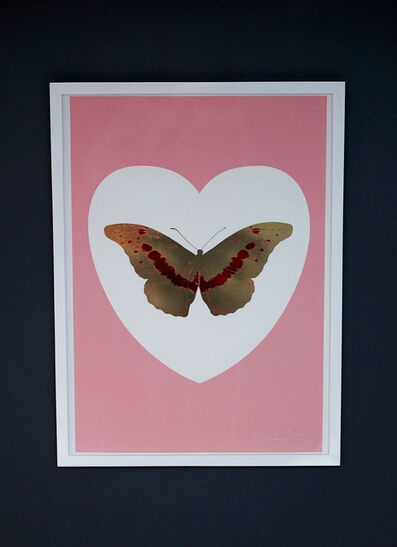 Damien Hirst, 'Butterfly, Pink/Gold', 2015