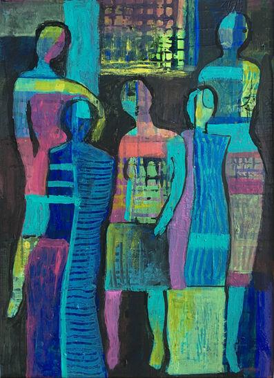 Eva Holz, 'Mujeres en acción', 2018