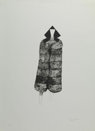 Lynn Chadwick, 'Cloaked Elektra (Fur Coat)', 1971