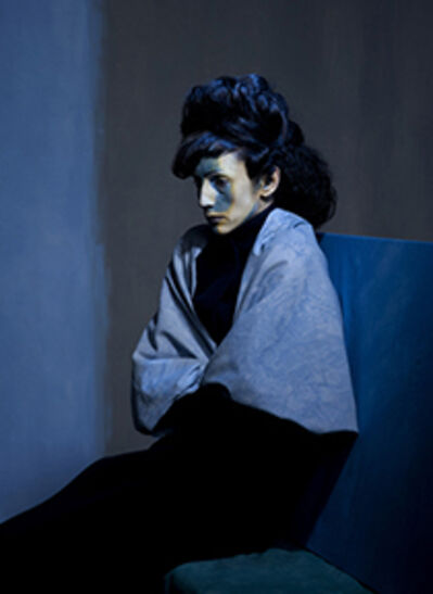Amy Arbus, 'Nina / After Melancholy (Picasso's Melancholy Woman, 1901-2) ', 2011