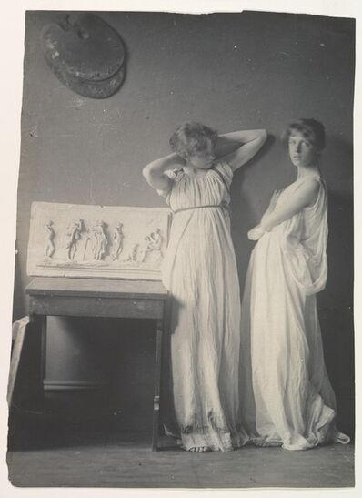 Thomas Eakins, 'Two Pupils in Greek Dress', 1883