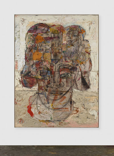 Daniel Crews-Chubb, 'Head (coat of arms)', 2019