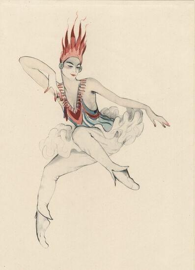 "Walter Schnackenberg, '""Groteske"", Ballet und Pantomime (plate 22)', 1920"