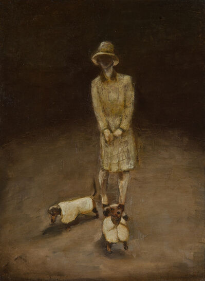 Goran Djurovic, 'The Lady with the Dogs', 2013