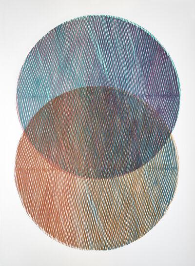 Lucinda Tanner, 'Mandorla Study VIII', 2019