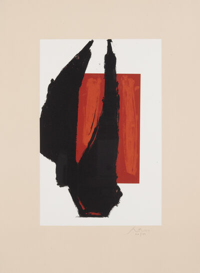Robert Motherwell, 'Art 1981 Chicago Print (E. & B. 282; T. 410)', 1981