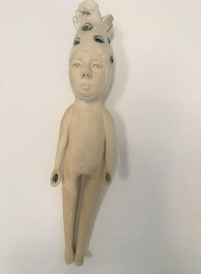 Ashley Benton, 'Ceramic wall hanging sculpture: 'Continue to seek'', 2020