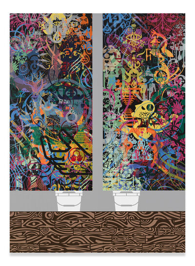 Ryan McGinness, 'Script Kitties', 2016