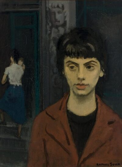 Raphael Soyer, 'The Green Door'