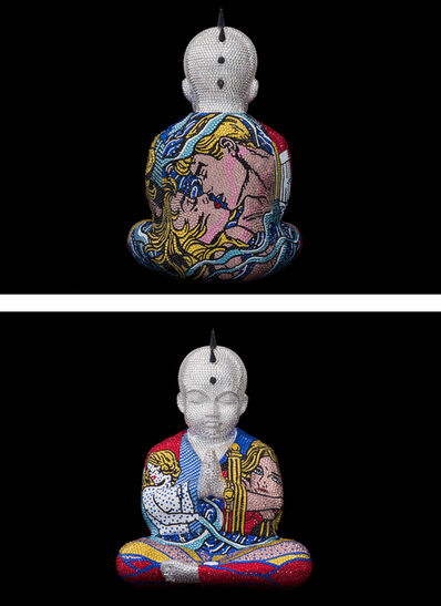 "Metis Atash, 'PUNKBUDDHA Large ""GALAXY II"" feat. Lichtenstein', 2020"