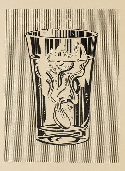 After Roy Lichtenstein, 'Alka Seltzer'