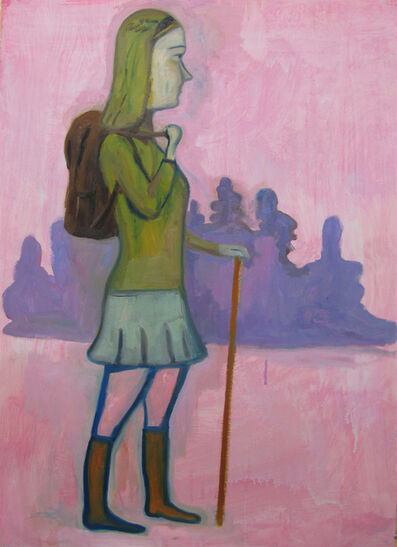 Stephanus Heidacker, 'Girl with Backpack', 2013
