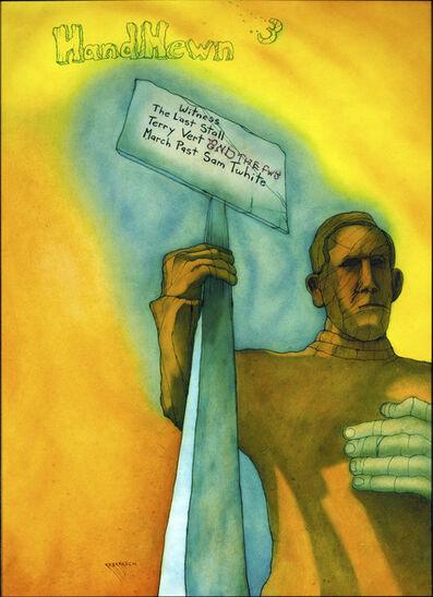 Philip Barasch, 'Hand Hewn #3 Cover', 2019