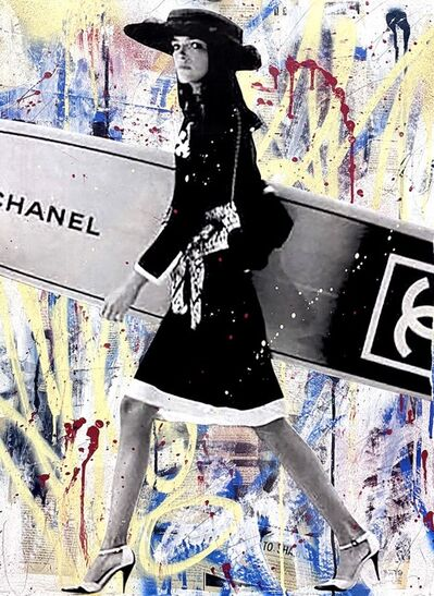 Seek One, 'Chanel Surfing Girl', 2021