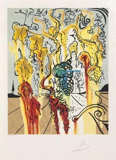 Salvador Dalí, 'Portrait of Autumn', 1980