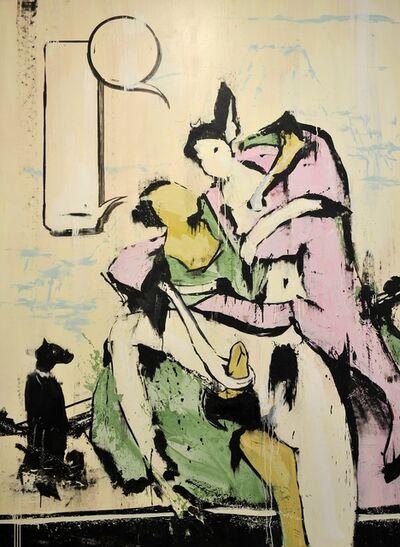 Lars Teichmann, 'Japanese Couple', 2019