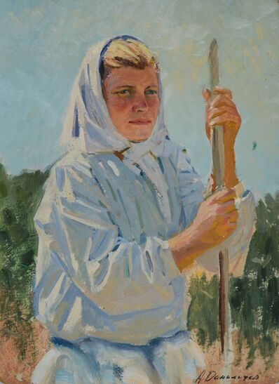 Aleksandr Timofeevich Danilichev, 'Peasant woman', 1965