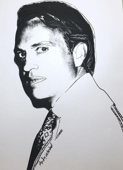 Andy Warhol, 'Carter Burden, unique', 1977
