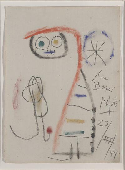 Joan Miró, 'Composition pour Borsi', 1951