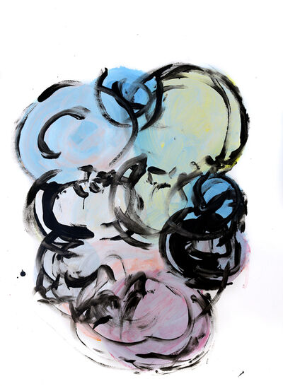 Geoffrey Hunter, 'Circles Post Circle 2', 2019