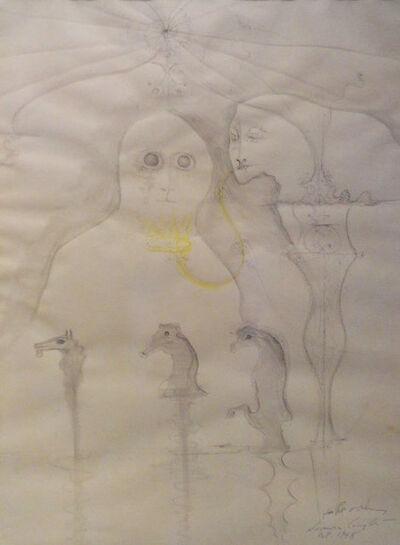 "Leonora Carrington, '""Dos Personajes""', 1968"