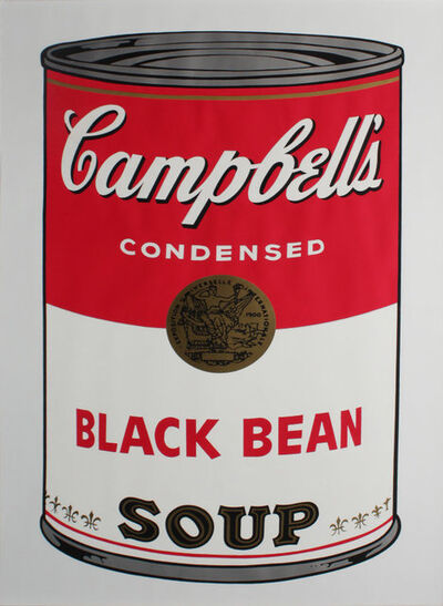 "Andy Warhol, 'Campbell's Soup: Black Bean FS II.44""', 1968"
