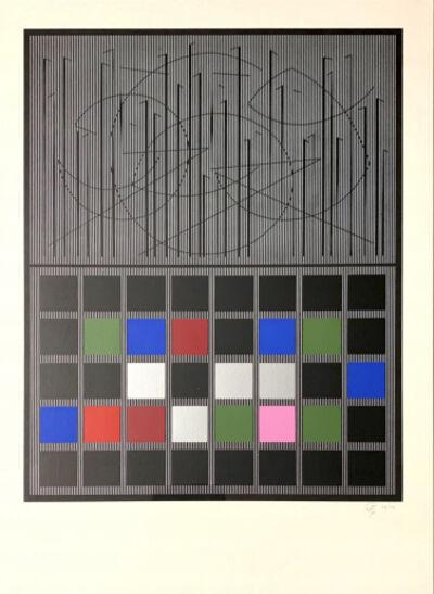 Jesús Rafael Soto, 'Serie Bicentenaria', 1982